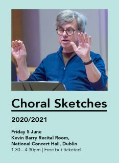 Choral Sketches 3 – Performance readings